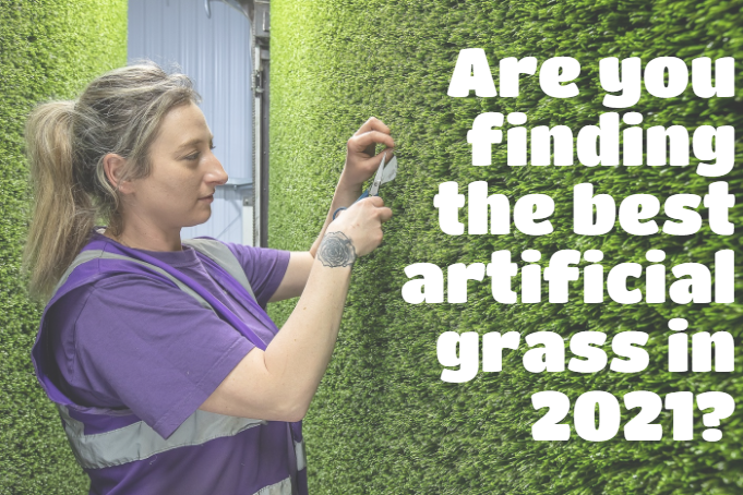 Are you finding the best artificial grass in 2021?
